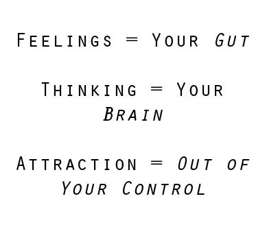 Feelings, Thoughts, Attraction