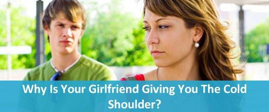 girlfriend pushing me away