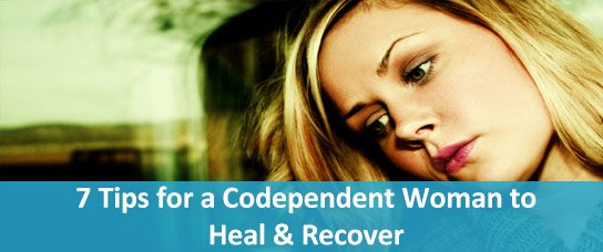 codependent woman heal recover