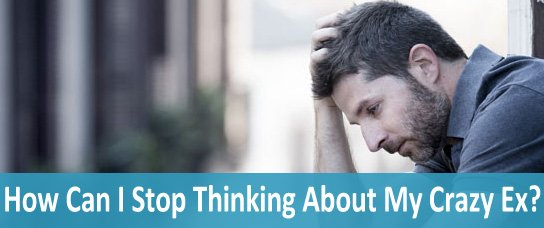 stop thinking about ex