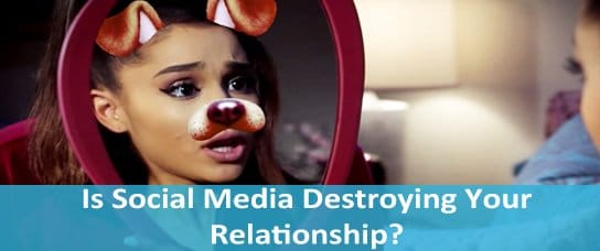 social media destroying relationships